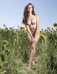 Imagine the surprise when you meet someone like this in the middle of the field. Breathtakingly hot as well sexy phenomenon.
